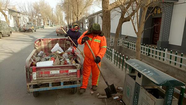 敦煌市郭家堡镇:保洁常态化 乡村更美丽