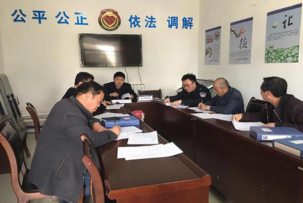 敦煌市郭家堡:开展人民调解员进行业务培训